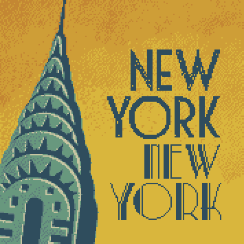 morning in new york cross stitch kit image