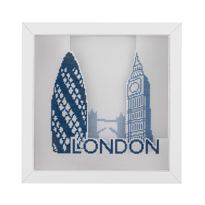 London Cross Stitch Kit | STITCHFINITY