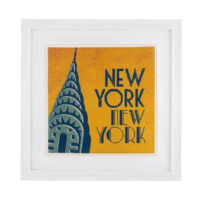 Morning in New York Cross Stitch Kit | STITCHFINITY