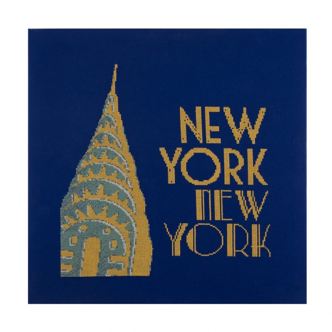 New York Express Cross Stitch Kit | STITCHFINITY