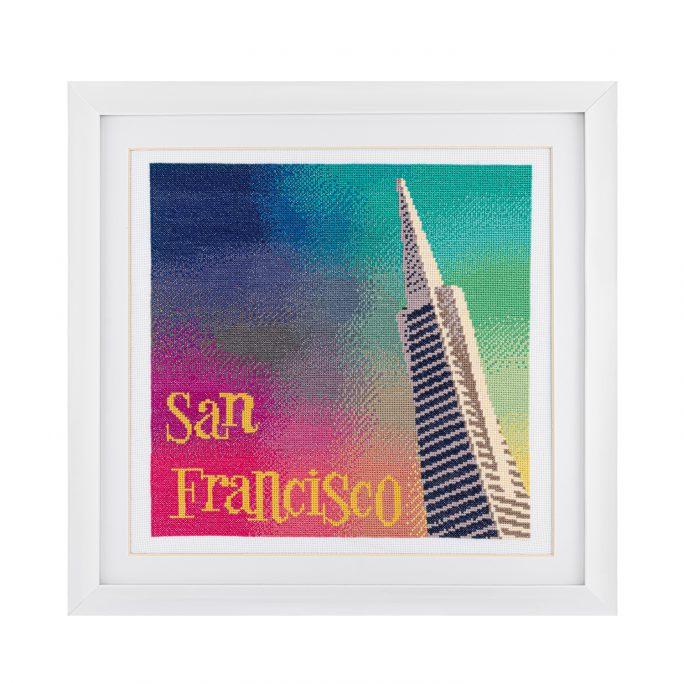 San Francisco Cross Stitch Kit | STITCHFINITY